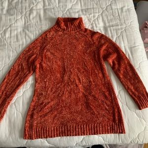 Vintage Bloomingdales Orange Sweater